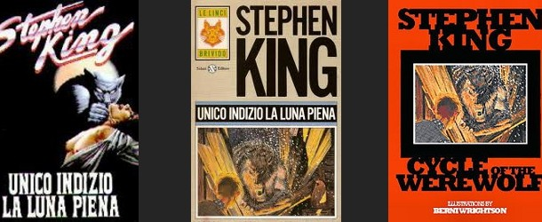 STEPHEN KING &#8211; UNICO INDIZIO LA LUNA PIENA