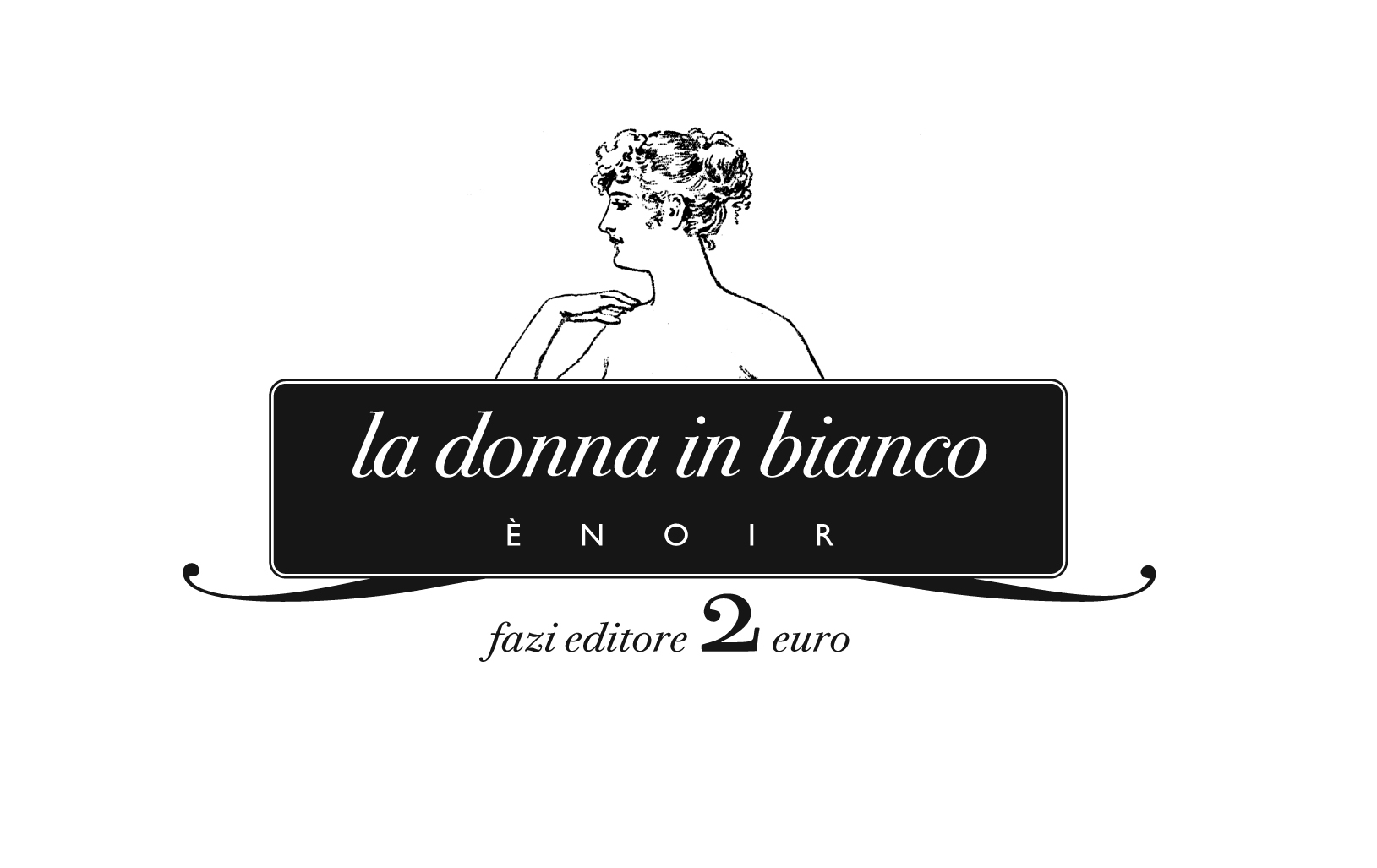 donna in bianco