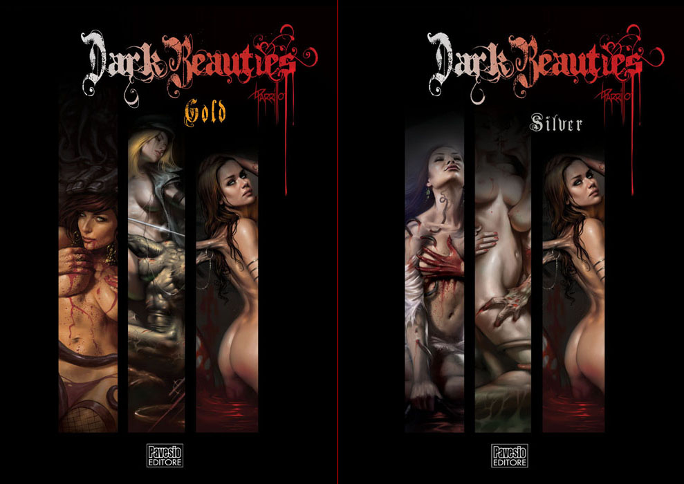 cover Dark Beauties Silver