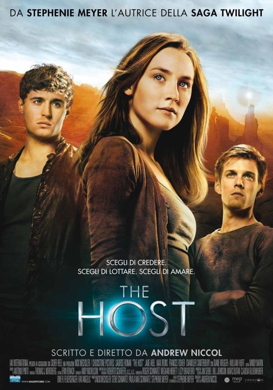 Locandina italiana del film The Host.