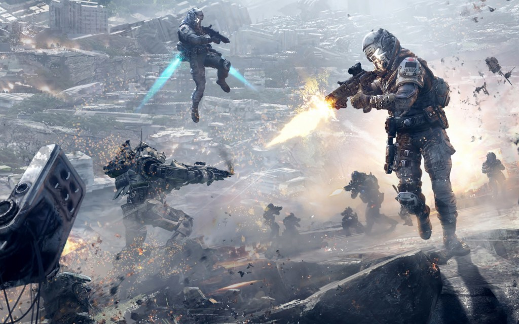Titanfall - gameplay