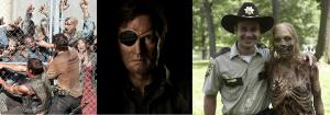 The Walking Dead- serie evento di questi ultimi anni, che rielabora in maniera originale la tematica dell'apocalisse zombie, dove in una lotta per la sopravvivenza, affianca il dramma di mantenere delle regole morali in un mondo senza legge e senza dio.