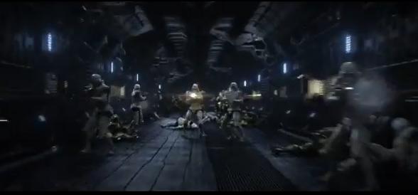 capitan-harlock-film-2014-clip-combattimento-cloni