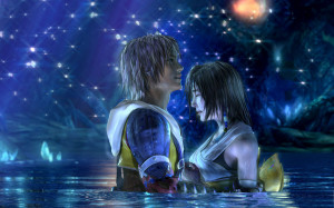 FFX HD - Tidus and Yuna