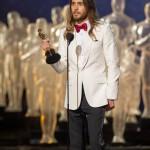 """Jared Leto, vincitore come miglior attore non protagonista, grazie al film """"Dallas Buyers Club"""""""