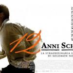 """Locandina italiana del film """"12 anni schiavo"""""""